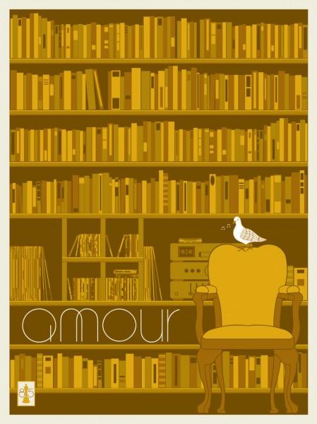 Amour Oscar Poster