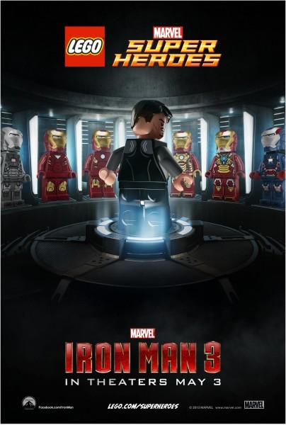 Iron Man 3 Lego Poster 2